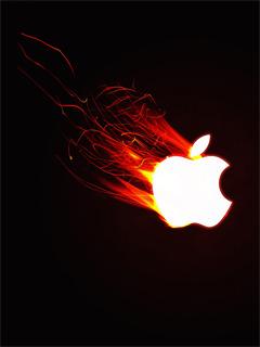 Red Apple Mobile Wallpaper