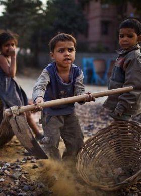 Child Labour Mobile Wallpaper