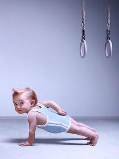 Active Baby Mobile Wallpaper