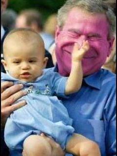 Baby And Bush Mobile Wallpaper