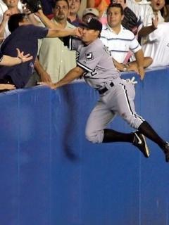 Baseballs Ouch 2 Mobile Wallpaper