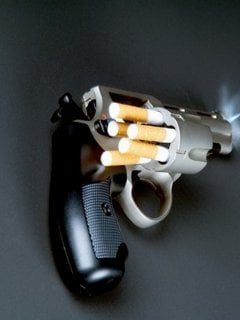 Cigarettes Kills Mobile Wallpaper