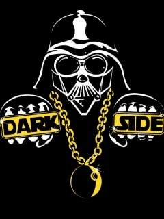 Darth Bling Vader Mobile Wallpaper