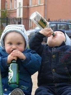 Drunk Babies Mobile Wallpaper