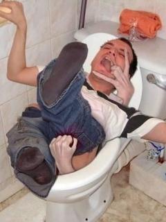 Horror In Toilet Mobile Wallpaper