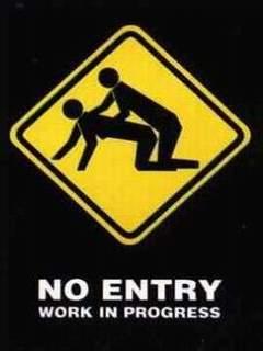 No Entry Mobile Wallpaper