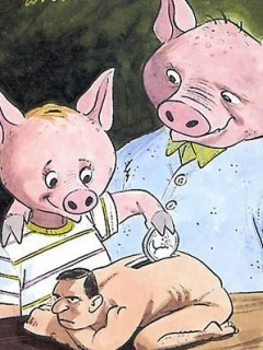 Pig Vs Human Xd Mobile Wallpaper