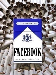 Face Book Smoke Mobile Wallpaper