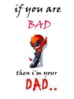 Bad N Dad Mobile Wallpaper