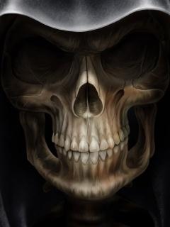 Skulls Grin Mobile Wallpaper