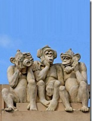 3 Monkey Mobile Wallpaper