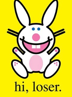 Happy Bunny Hi Loser Mobile Wallpaper