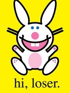 Happy Bunny Hi Loser Mobile Wallpaper