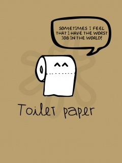 Toilet Paper Mobile Wallpaper