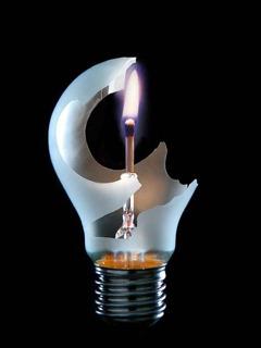 Bulb Fire Stick Mobile Wallpaper