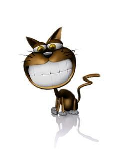 Cat Teeths Mobile Wallpaper