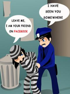 Facebook Funny Police Mobile Wallpaper