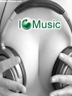 Sony I Love Music Mobile Wallpaper