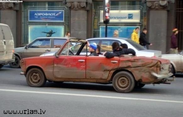 Vaz Cabriolet Inrussia Mobile Wallpaper