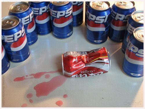 Pepsi Fights Back Mobile Wallpaper