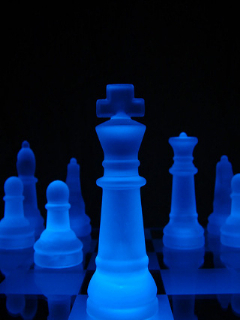Chess Pieces Mobile Wallpaper