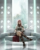 FF13_Lightning Mobile Wallpaper