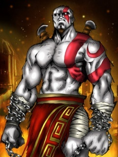 Kratos Mobile Wallpaper