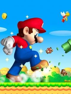 Mario - Mb5 Mobile Wallpaper
