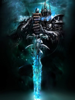 Arthas The Lich King Mobile Wallpaper