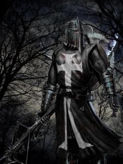 Black Knight  Mobile Wallpaper