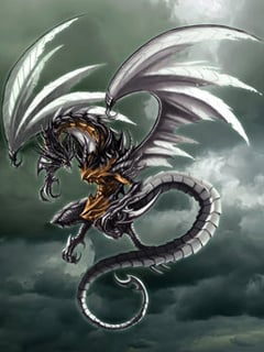 Dark Dragon Mobile Wallpaper