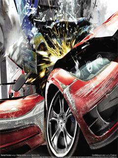 Burn Out CAR Mobile Wallpaper