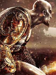 Kratos Gow Mobile Wallpaper