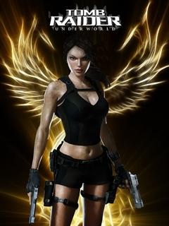 Lara Croft 2 Mobile Wallpaper