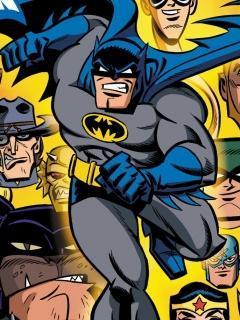 Batman Brave Mobile Wallpaper