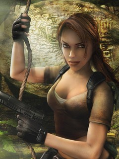 Lara Croftt Mobile Wallpaper