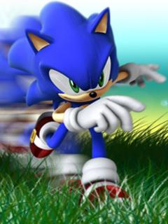 Sonic Blue Mobile Wallpaper