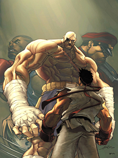 Street Fighter  Mobile Wallpaper