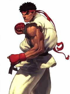 Street Fighter Mobile Wallpaper