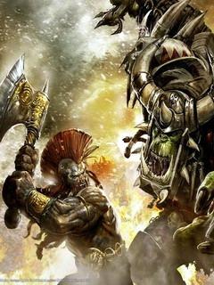 Warhammer Mobile Wallpaper