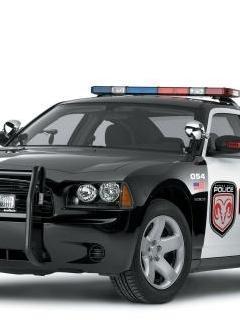 Police Car Mobile Wallpaper