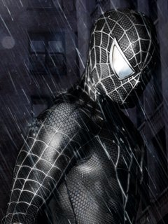Download spider man mobile wallpaper mobile toones - Black and white spiderman wallpaper ...