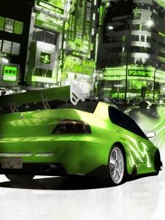 NFS Carbon Mobile Wallpaper
