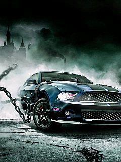 Dark Car Mobile Wallpaper