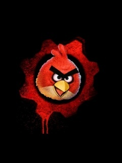 Angry Bird Mobile Wallpaper