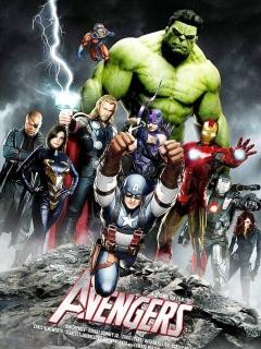 The Avengers Mobile Wallpaper