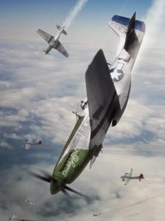 Fighter Air Plane Mobile Wallpaper