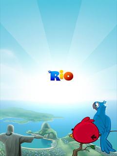 Angry Birds Rio Mobile Wallpaper