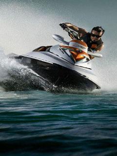 Power Boat Mobile Wallpaper