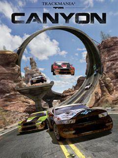 Track Mania Canyon Mobile Wallpaper